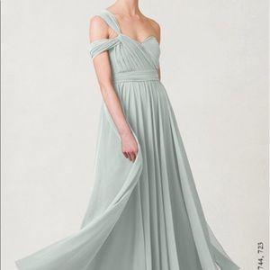 Jenny Yoo Inesse dress size 10 morning mist